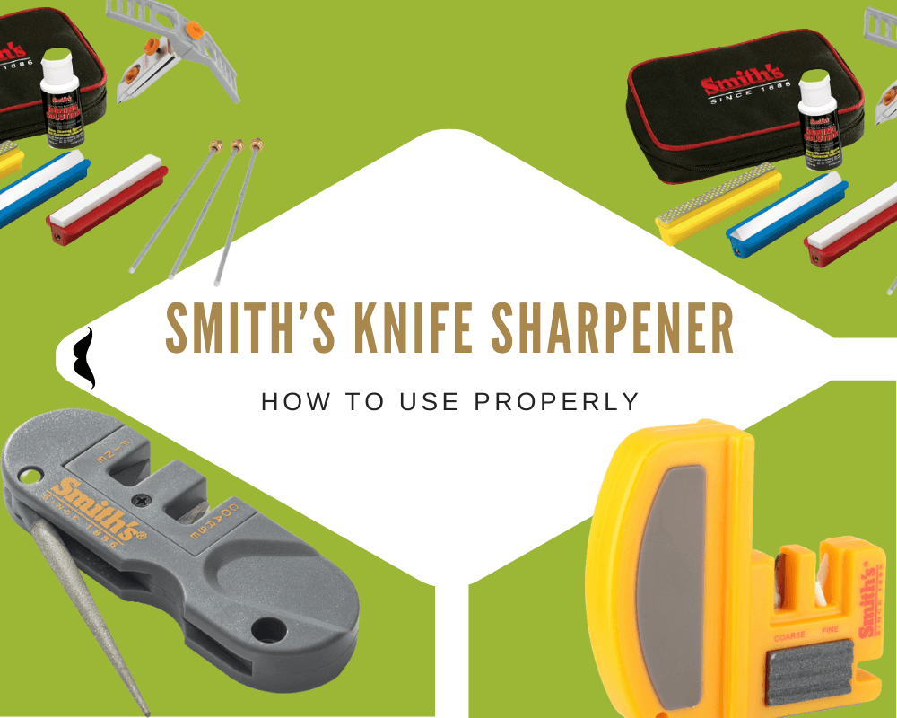 How to Use a Smith's Knife Sharpener