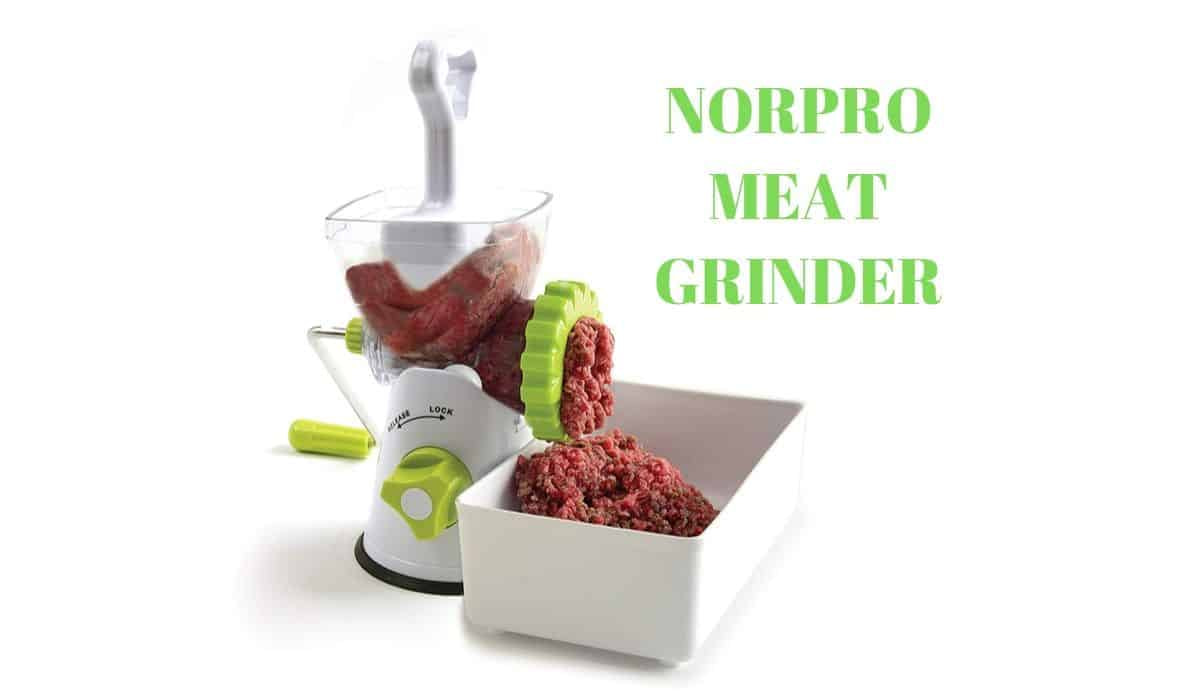 Norpro meat grinder review