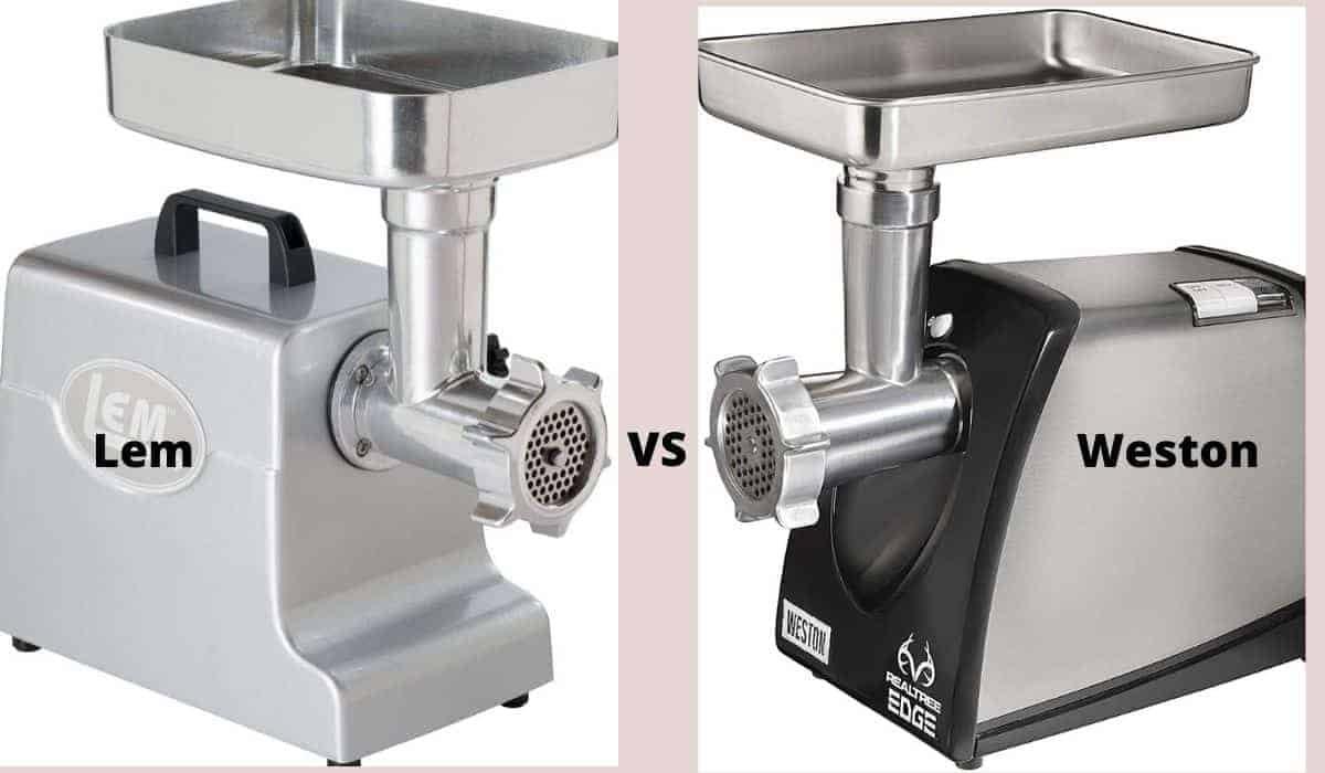 lem vs weston meat grinder