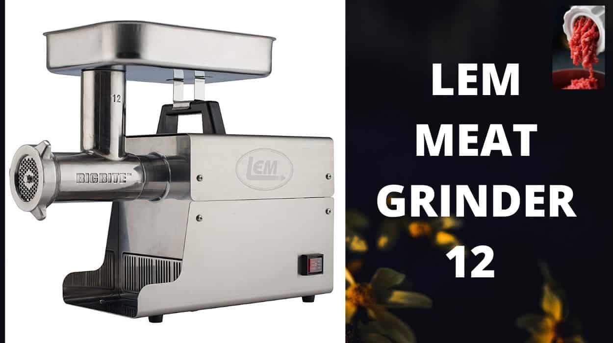 Lem Meat Grinder 12