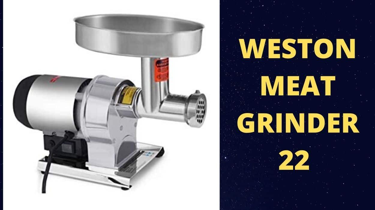 Weston Meat Grinder 22