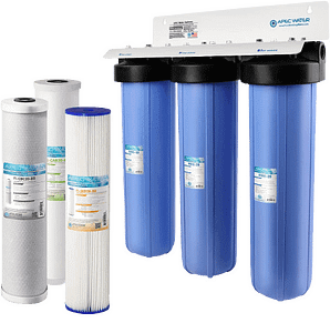Water Systems 3-Stage Whole House Water Filter System
