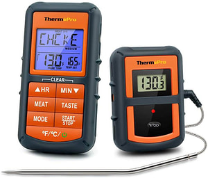 Wireless BBQ Meat Thermometer for Grilling