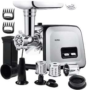 ALTRA Stainless Steel Electric Meat Grinder 2000W Max