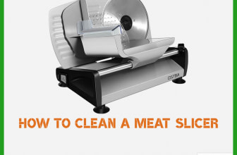 How to Clean Meat Slicer And Sanitize it Properly?