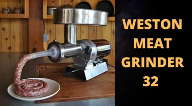 Weston Meat Grinder 32 Series Reviews